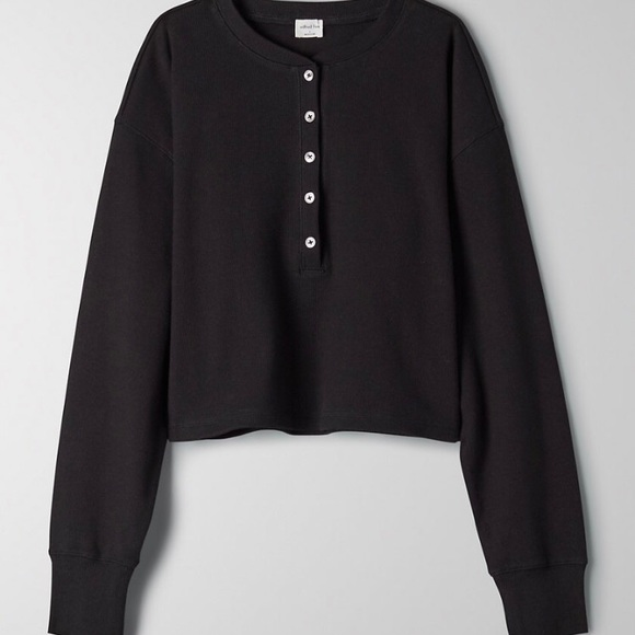 Aritizia Wilfred Mavis black Long sleeve size S